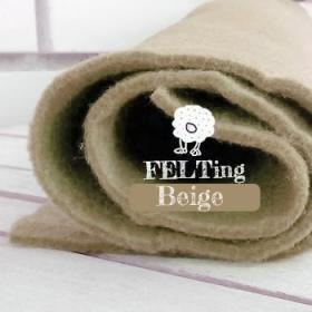 Fieltro Beige 2mm. (50x50cm)