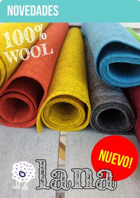 Fieltro de lana 100% merino