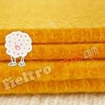 Fieltro Amarillo de 3mm.