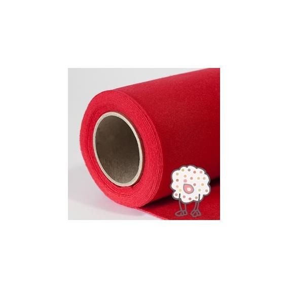 Fieltro Rollo Rojo (5metros)