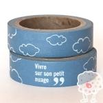 Washi Tape Nubes