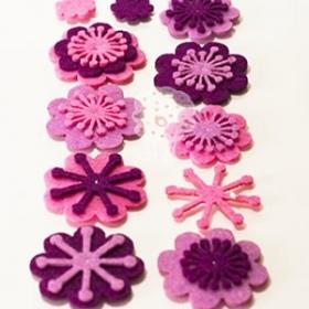 Formas Cosidas Flores