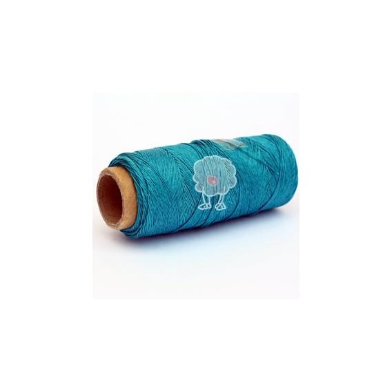 Cordón Encerado de 0.5mm Turquesa.