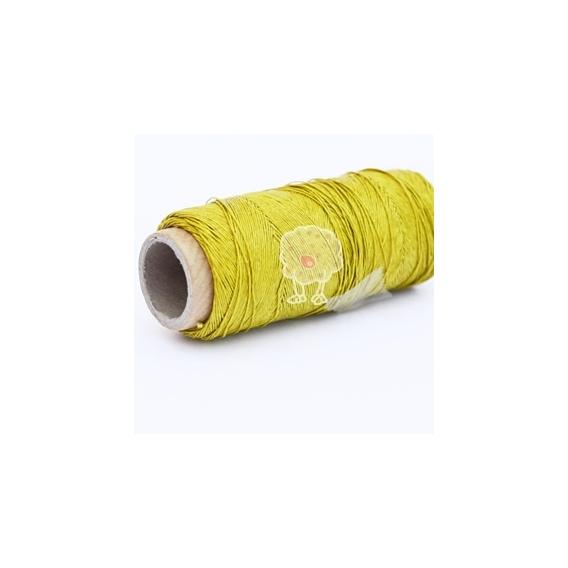 Cordón Encerado Pistacho (10metros)