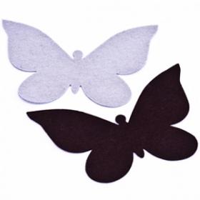 Mariposas de Fieltro Invierno