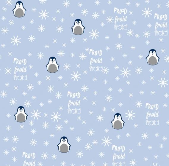 Papeles Scrapbooking Pingüin (1Und)