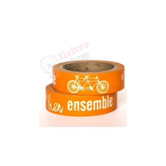 Washi Tape Bicicletas.