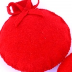 Bolas Navidad 3D Rojas