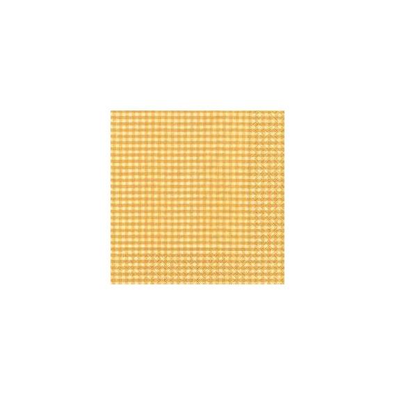 Servilleta Cuadrados Amarillos