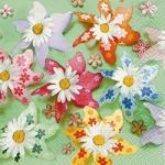 Servilleta Flores Divertidas