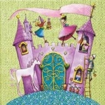 Servilleta Castillo Princesa