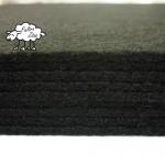 "Fieltro ""PROMO"" Negro 2mm. (30,5cm x 30,5cm)"