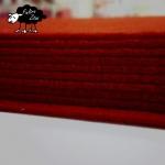 """Fieltro """"PROMO"""" Rojo 2mm. (30,5cm x 30,5cm)"""