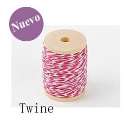 Cordón TWINE Fucsia