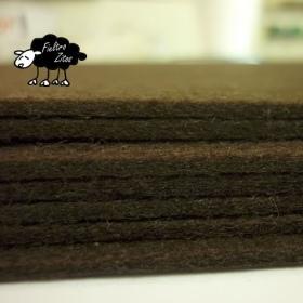 "Fieltro ""PROMO"" Chocolate 2mm. (30,5cm x 30,5cm)"