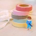 Fabric Tape Vichy