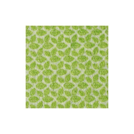 Fieltro estampado de hojas en color verde claro - Color verde hoja ...