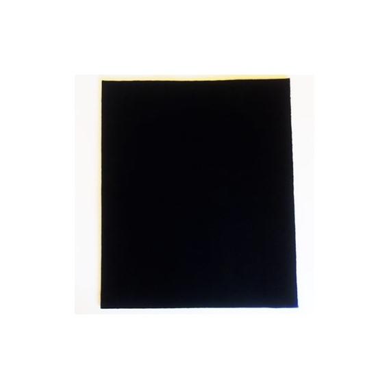 Retal Fieltro Negro 3mm.
