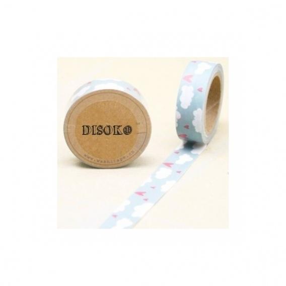 Cinta adhesiva Washi Tape 15mm x 10 metros DS-115 - Imagen 1
