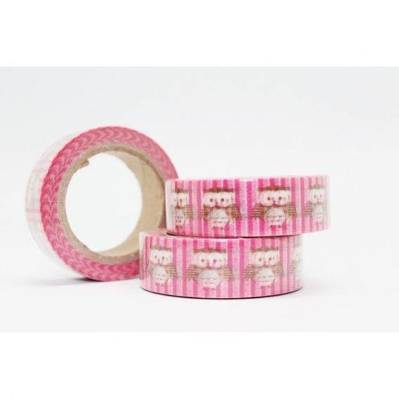 Cinta adhesiva Washi Tape 15mm x 10 metros DS-116 - Imagen 1