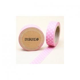 Cinta adhesiva Washi Tape 15mm x 10 metros DS-118 - Imagen 1