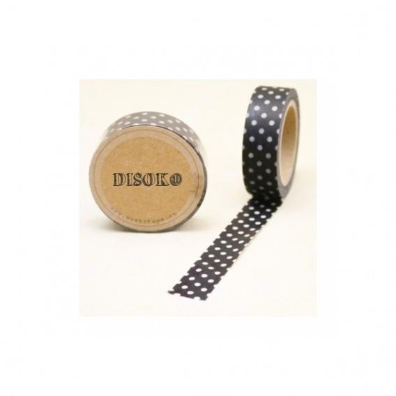 Cinta adhesiva Washi Tape 15mm x 10 metros DS-119 - Imagen 1