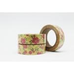 Cinta adhesiva Washi Tape 15mm x 10 metros DS-107! - Imagen 1
