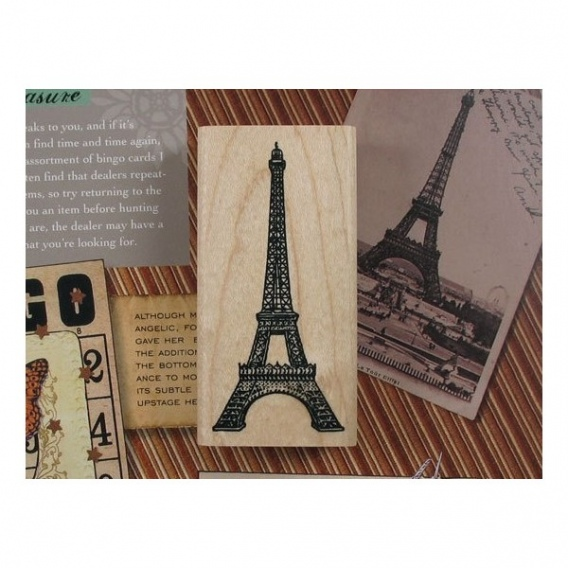 Sello París Torre Eiffel [9649] - Imagen 1
