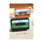 "Sello cassette ""Bonjour"" scrap en display [9646] - Imagen 1"