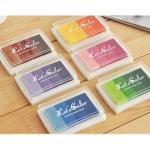 Lote 6 Tintas multicolor para sellos [9651] - Imagen 1