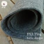 Fieltro Gris Jaspe 2mm. (50x50cm)