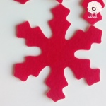 Fieltro Estrella Polar Adhesiva