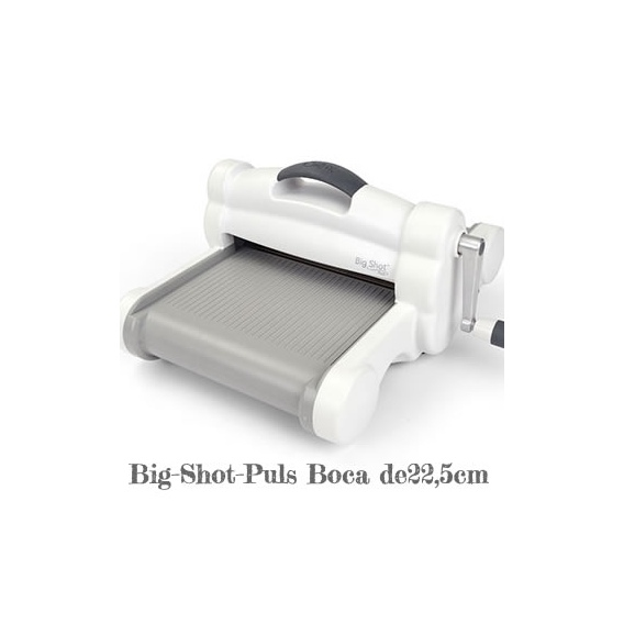 Máquina BIG SHOT PLUS White&Grey boca 22,5cm