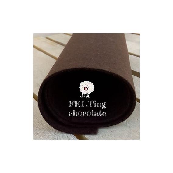 Fieltro Chocolate 2mm. (60x40cm)