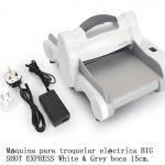 Máquina para troquelar eléctrica BIG SHOT EXPRESS White & Grey boca 15cm.