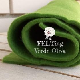 Fieltro Oliva 2mm. (50x50cm)