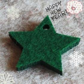 Estrella 5 Puntas Verde