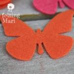 Mariposas de Fieltro Mari
