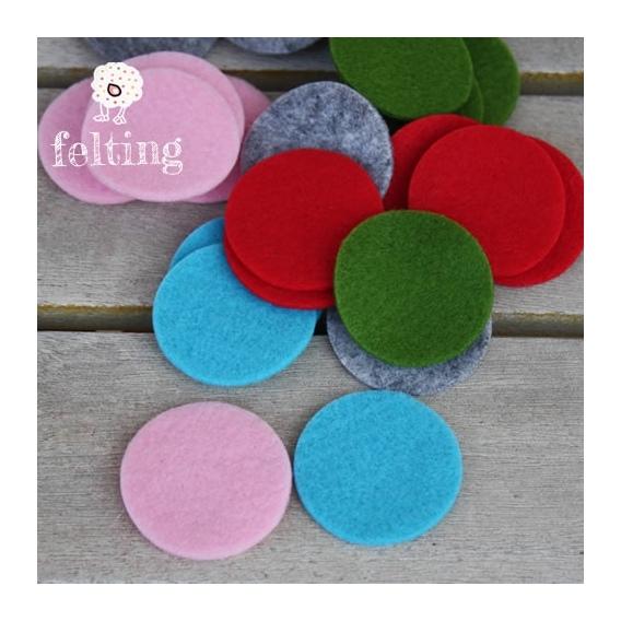 Círculos de Fieltro Colori