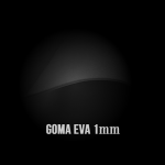 Goma Eva Negra 1mm.