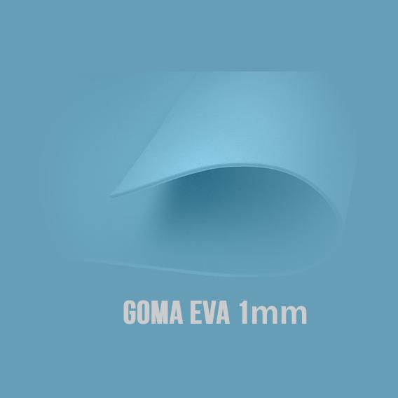Goma Eva Turquesa 1mm.