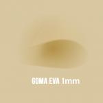 Goma Eva Beige 1mm.