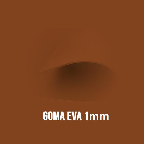 Goma Eva Marrón 1mm.