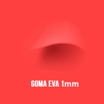 Goma Eva Rojo 1mm.