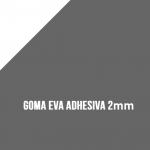 Goma Eva Adhesiva Gris 2mm