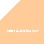 Goma Eva Adhesiva Carne 2mm