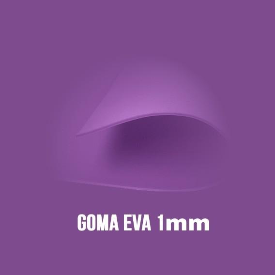 Goma Eva Morada 1mm.