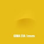Goma Eva Amarilla 1mm.