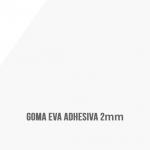 Goma Eva Adhesiva Blanca 2mm