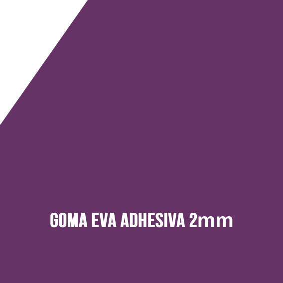 Goma Eva Adhesiva Morada 2mm